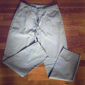 Men's J. Crew gray pants